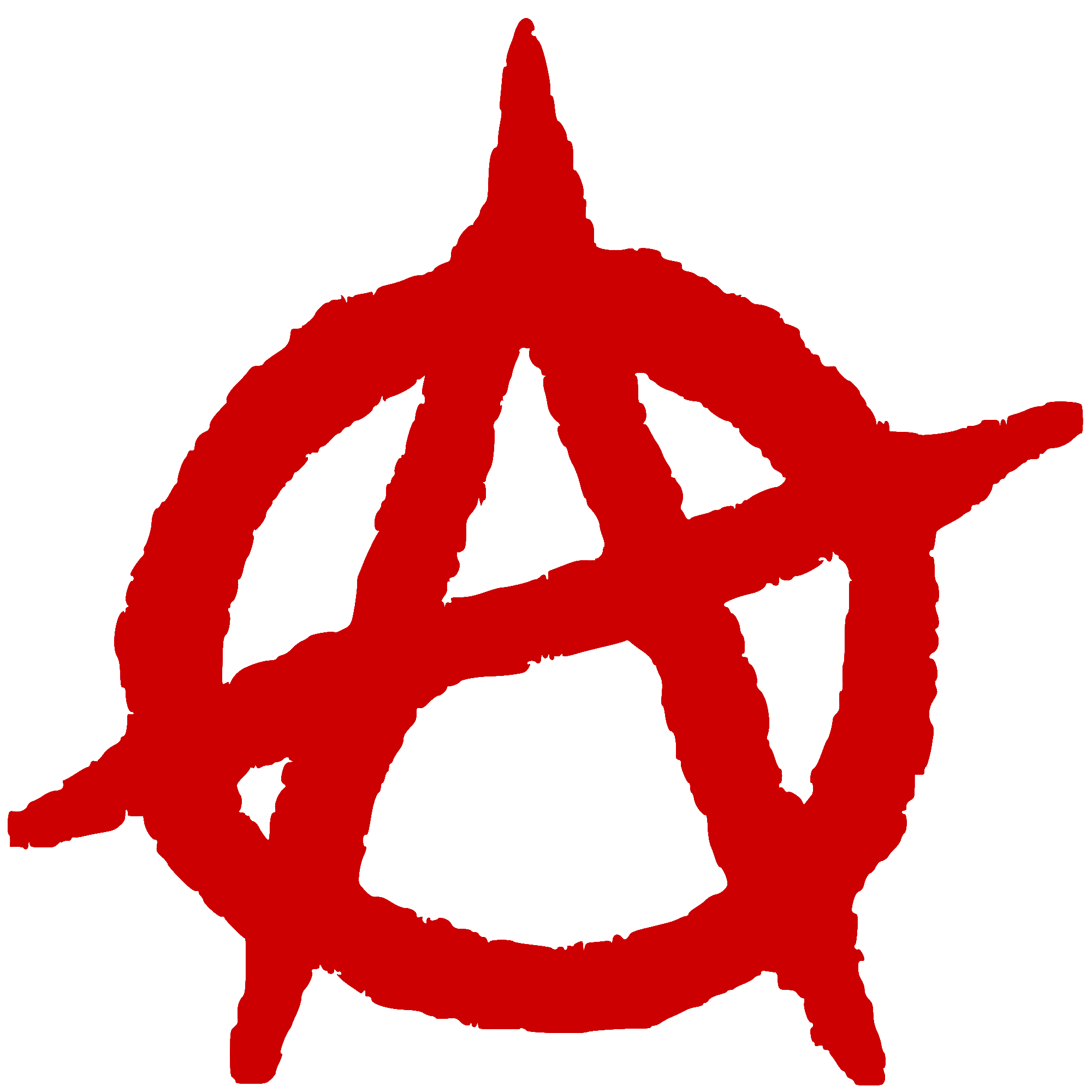 Black cross anarchist symbol buycottarizona