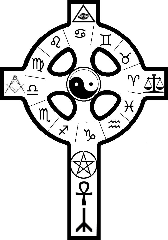 Kabbalah Cross
