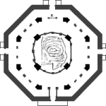 Plan of the Dome of the Rock