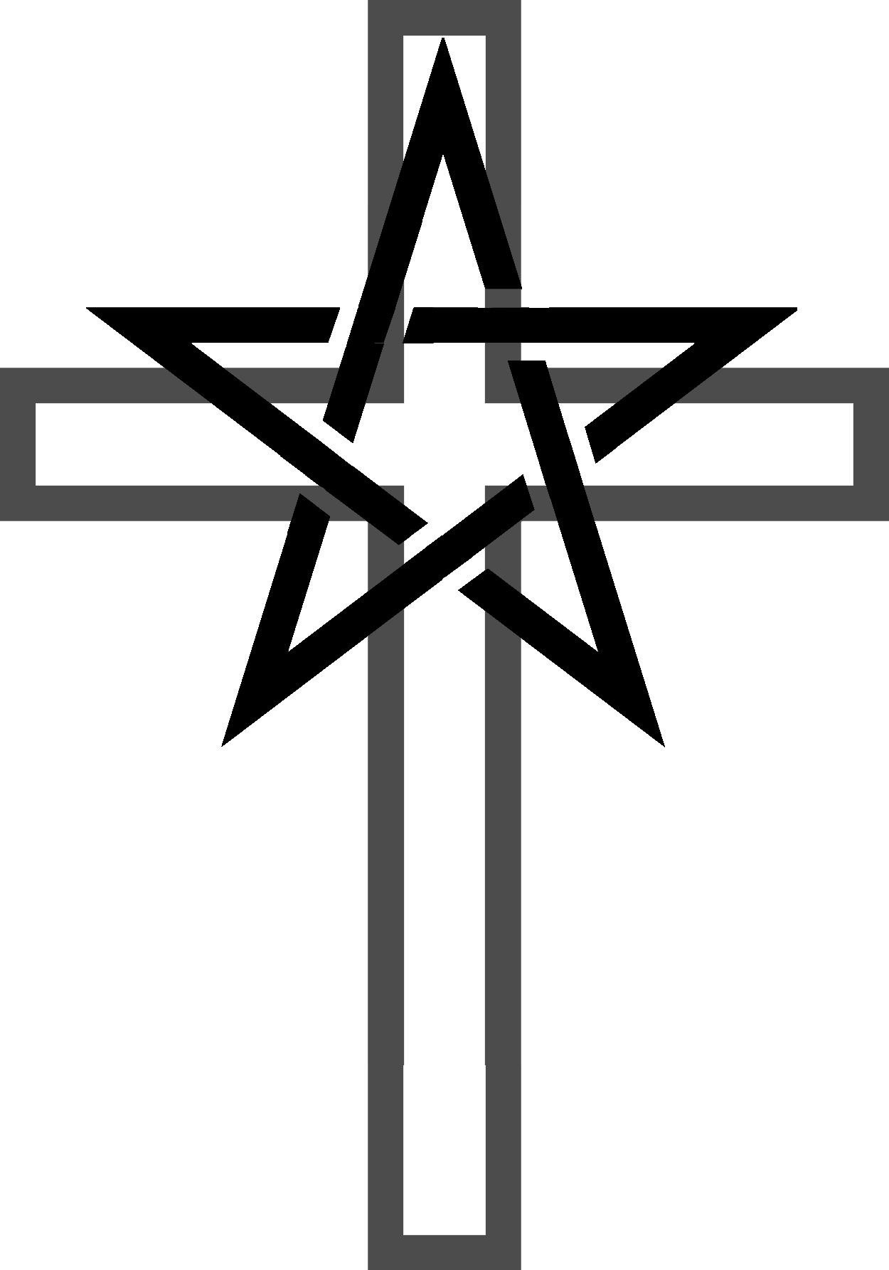 Pentagram Cross