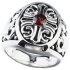 Signet ring cross