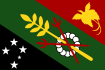 Southern Cross on the Flag of Shimbu Province