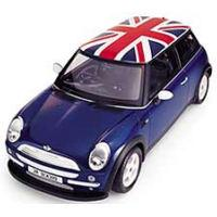 Mini with reverse flag