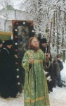 Russian monastic procession