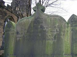 Mysterious grave stone markings
