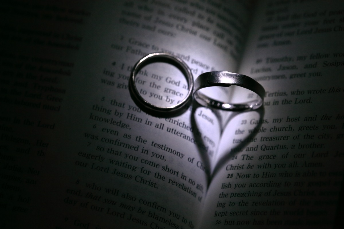 Rings and christianity for Wedding ring meaning bible