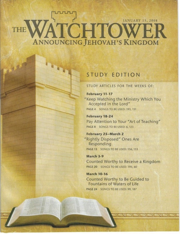 Jehovahs Witnesses Cross